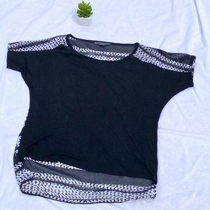 Lovely Armani Exchange black blouse